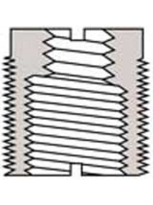Microphone clip thread adaptor