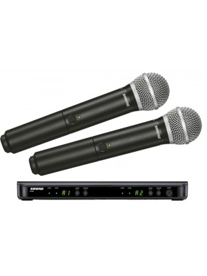 Shure BLX288UK/PG58 Radio Mic