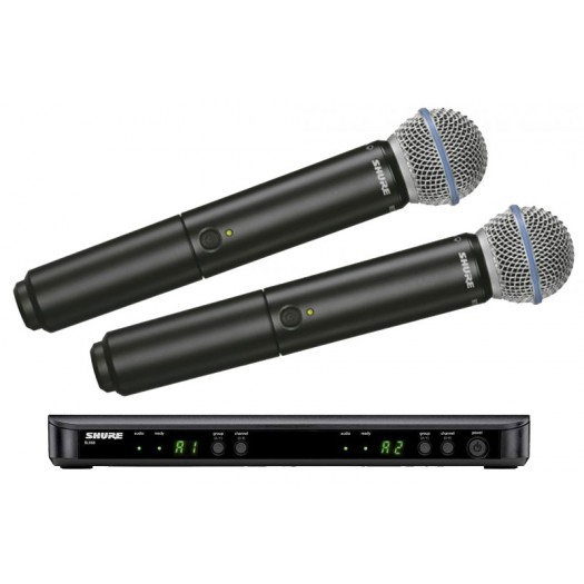Shure BLX288UK/Beta58 RadioMic