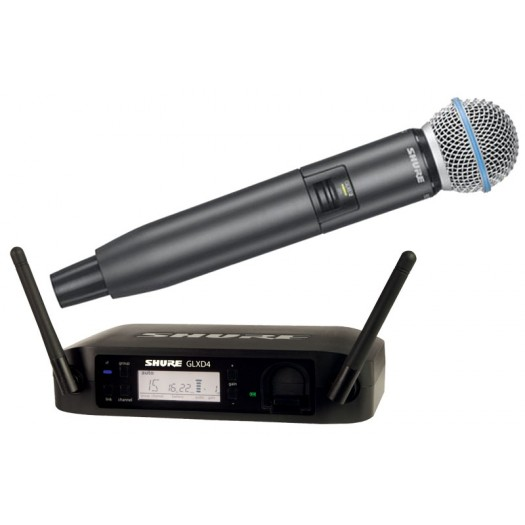 Shure GLXD24UK/Beta58 RadioMic