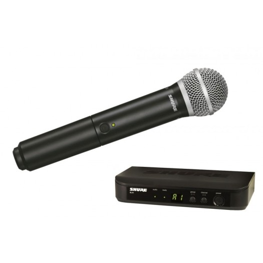 Shure BLX24UK/PG58 Radio Mic