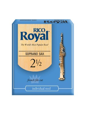 Reed Sopr Sax Rico Royal 2.5