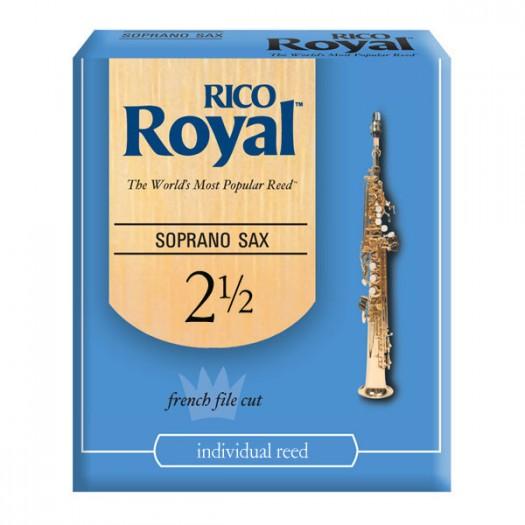Reed Sopr Sax Rico Royal 2.5