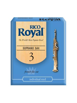 Reed Sopr Sax Rico Royal 3