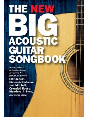 New Big Acoustic Guit Songbook