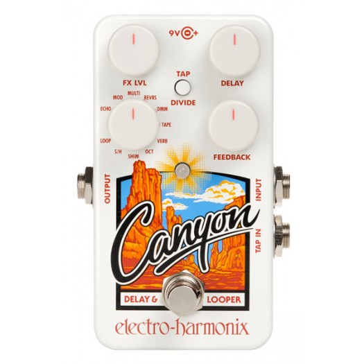 El-Harmonix Canyon Delay/Loop